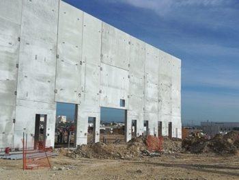 Data center construction precast walls