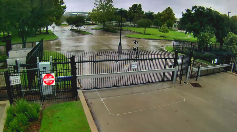 Houston 2 main gate