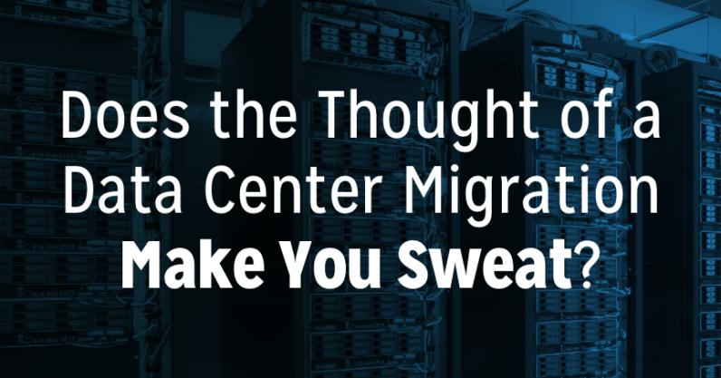 Data center migration blog