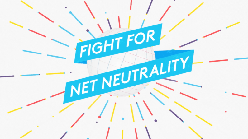 Fight for net neutrality fb
