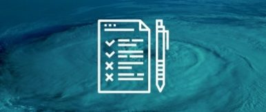 Bg img card disaster recovery checklist